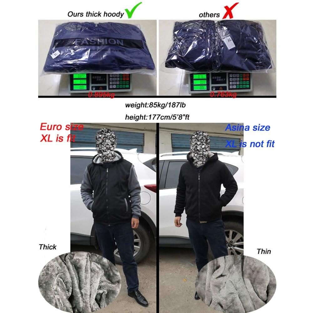 Image 5 - thick jacket men brand clothing new short warm coat Hoyt Archery  Fighting Bucks loose fashion brand mens hoodies sbz5074Hoodies