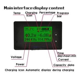 Image 3 - dykb DC METER 200A Li ion Lifepo4 Lithium Battery Monitor Capacity Indicator Voltage Current 12V 24V 36V 48V 60V 72V 4S 7S 10S