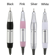 Electric Nail Art Drill Pen Handle File Polish Grind Machine Handpiece Manicure Pedicure Tool Professional Nail Art Accessories