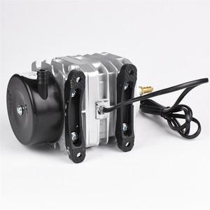 Image 3 - NEW Aquarium electromagnetic air compressor 70L/min 45W fish tank air pump increasing oxygen pump HAILEA ACO 318