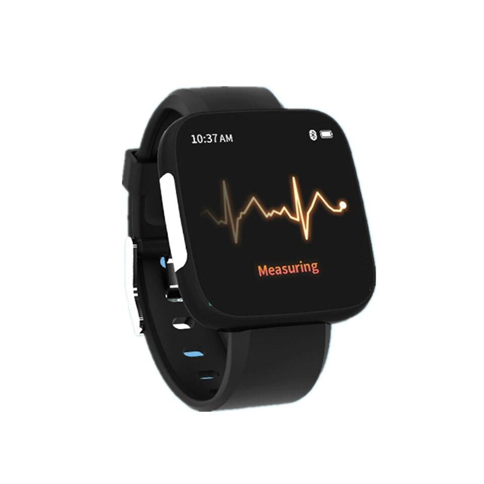 T5 Smart Watch Electrocardiogram Heart Rate Blood Pressure Monitor Bracelet Waterproof Fitness Tracker Sports Band Wristband