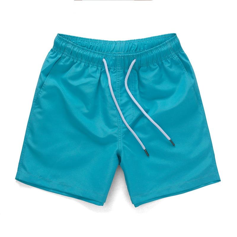 Beach   Shorts   Men Side & Back Pocket Solid Drawstring Plus Size   Board     Shorts   Beach Pants Swim   Shorts   Swimwear Men Swimming Trunk