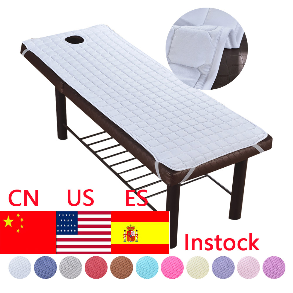 1pc Beauty Massage Elastic Fitted Bed Table Cover 190x80cm Salon Spa Couch Sheet