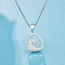 Necklace s925 zircon inset…