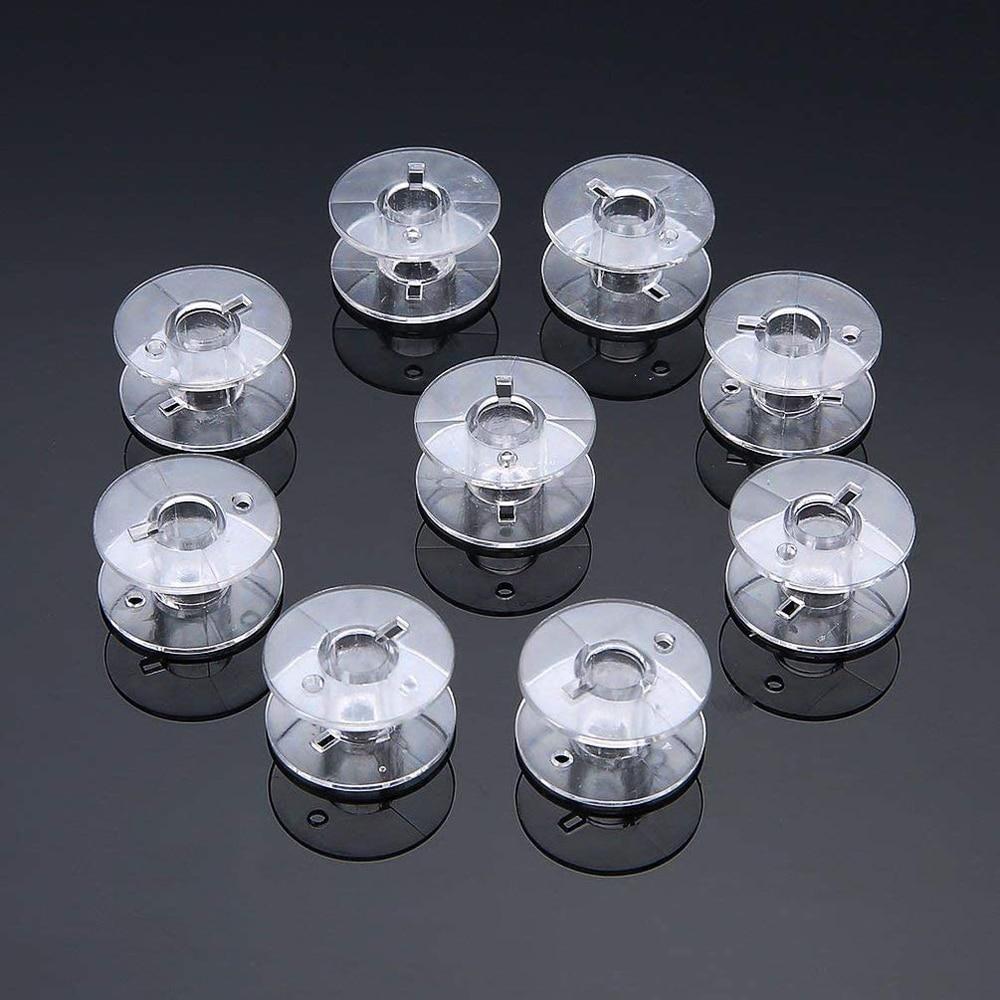 100 шт прозрачные катушки для швейной машины стеганые diy Вышивка