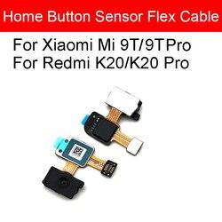 Strona główna przycisk linii papilarnych Flex Cable dla Xiaomi Mi 9T Pro Redmi K20 Pro Menu powrót rozpoznawanie klawiszy czujnik Flex Cable naprawa części