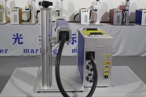 Image 2 - 30 واط سبليت آلة التعليم بليزر الألياف ماكينة وضع علامات معدنية ليزر حفارة آلة لوحة ليزر وسم mach الفولاذ المقاوم للصدأ