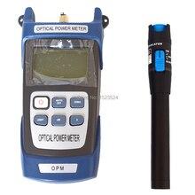 Medidor de potência óptico de fibra handheld e localizador visual de falhas 1mw 10mw 20mw 30mw