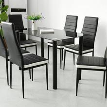 2PC/SET Soft Dining Chairs Hotel Bar Chair Safe And Non-slip Home Kitchen Dining Room Furniture Dropshipping HWC