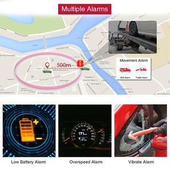 GPS Tracker Car Tracker 90 Day Standby Tkstar TK905 GPRS GPS Locator Waterproof Vehicle Tracker 2G Magnet Voice Monitor Free APP 6