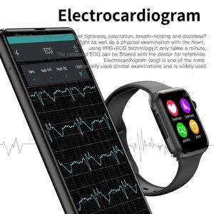 Image 5 - Timewolf W34 Smart Uhr Männer Frauen Touchscreen Blutdruck Smartwatch Multifonction IP68 Android Smart Uhr für Iphone IOS