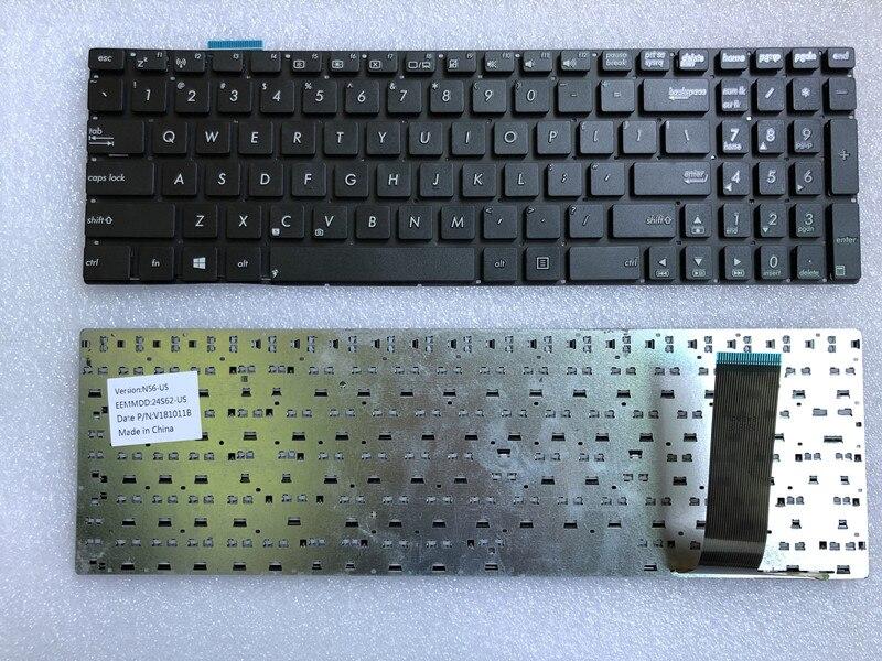 New US silver backlit keyboard for ASUS N550 N550J N550JA N550JK N550JV N550LF