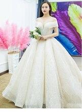 Новинка 2021 года; Роскошные свадебные платья цвета шампанского