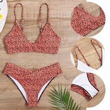 2021 mulheres Decoração Diamante Biquíni Conjunto Empurrar Para Cima Maiô Beachwear Acolchoado Swimwear trajes de baño женский купальник muje
