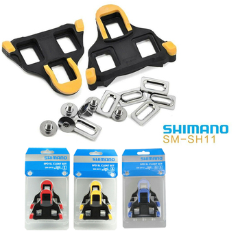 2020 Road Bike Spd Pedals Cleats For Most Cycling Shoes, Self-Locking Cycling Pedal Cleat For Pedal Shimano SH-11 SPD-SL bicycle pedal mtb bike self locking spd pedal clipless pedal platform adapters for shimano spd looking keo system accessories