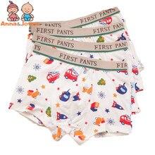 Baby Panties Briefs Boys Underwear Kids Boxer Cartoon Kawaii Soft for 2-10yrs 2pcs/Lot