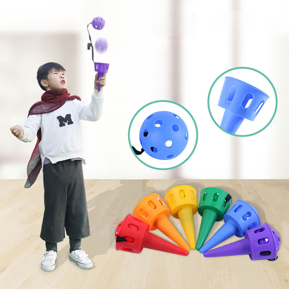 Kids Kindergarten Catching Ball Toys Outdoor Sports Toys Training Interaction Game Ball Toys For Children