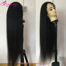 Bouncing Straight 13x4 Lace Front Human Hair Wigs Brazilian Remy Wigs 150% 250% Density 30 32 34 36 38 40 Inch Lace Front Wigs(China)
