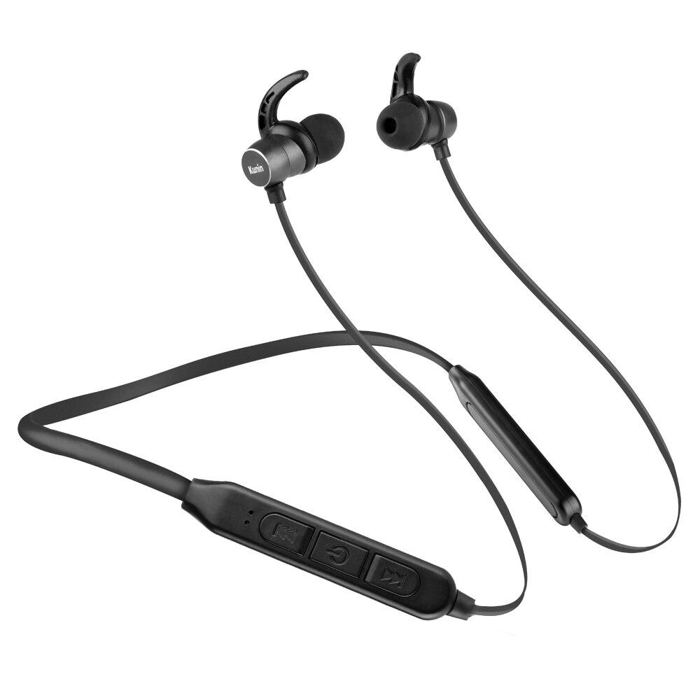 Écouteurs Bluetooth 10Hr sans fil écouteurs V5.0 bruit annulant les écouteurs de sport avec Micrphone fone de ouvido pour Xiaomi