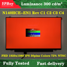 14,0 zoll LED LCD Display Matrix Laptop Slim Bildschirm Genaue Modell N140HCE-EN1 Rev C1 C2 C3 C4 FHD 1920x1080 IPS 30pins Farben 72%