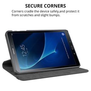 Вращающийся на 360 градусов чехол для Samsung Galaxy Tab A 10,1 2016 T580 T585 складной чехол-подставка для Samsung Tab A6 10,1 SM-T580 SM-T585 Funda