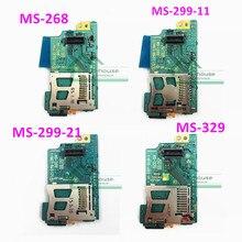 PSP1000ため中古オリジナルワイヤレスネットワークカードpsp 1000用のメモリスティックカードスロットボードMS 329 MS 268 MS 299