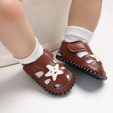 Детские летние сабо; Модная обувь с мягкой подошвой для новорожденных