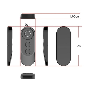 Image 2 - Neue Auslöser Kamera Controller Adapter für Selfie Zubehör Foto Control Bluetooth Remote Taste für Selfie