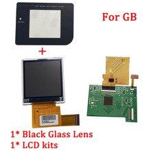 جديد LCD مع شاشة أطقم ل نينتندو جيجابايت الخلفية شاشة lcd شاشة إل سي دي عالية الإضاءة استبدال ل جيجابايت DMG GBO وحدة التحكم الملحقات