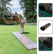 Eco-friendly  Functional Putting Practice Mat Golf Green Simulated Golf Mat Wear-resistant   Sporting Goods