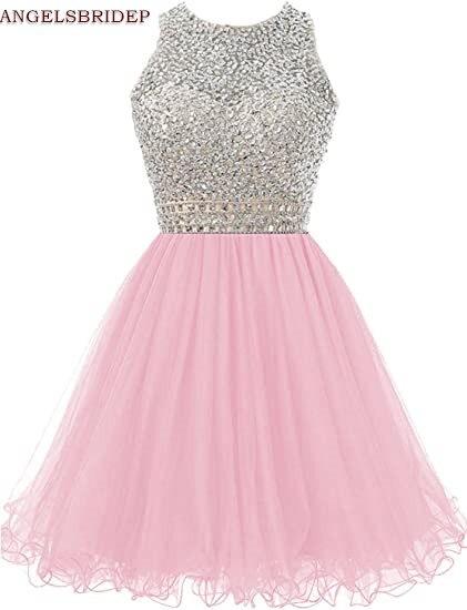 ANGELSBRIDEP-High-Neck-Homecoming-Dresses-Sparkly-Crystal-Beading-Vestidos-de-festa-Tulle-Formal-Graduation-Formal-Party (1)