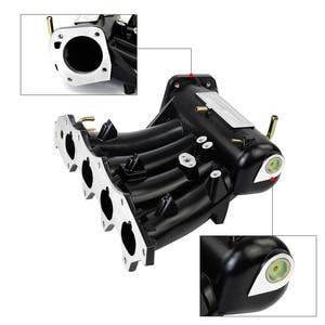 Image 4 - PQY   FOR b16a b16b b18a Aluminum Cast Intake Manifold Upgrade Bolt On FOR 99 00 Honda Civic 92 01 Acura Integra PQY IM42 CA