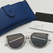 Нежные Роскошные брендовые дизайнерские V корейские K-1 солнцезащитные очки винтажные мужские кошачий глаз Sung lasses женские зеркальные линзы UV400 Gafas Oculos De Sol