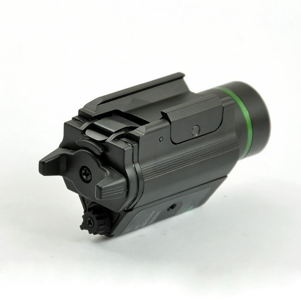 Tactical Combo Metal Green Red Dot Laser Sight LED Laser Flashlight with 20mm Rail Weaver Picatinny Fit For 20mm Rail Gun Glock-1