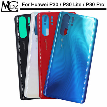 100 PCS P30/P30 Lite/P30 Pro Battery Back Cover For Huawei P30/P30 Lite/P30 Pro Phone Back Rear Housing Case Cover Lid фото