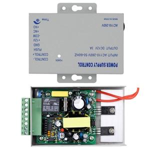 Image 5 - DC12V 3A جديد نظام مراقبة الدخول امدادات الطاقة التبديل التيار المتناوب AC110V 260V تأخير وقت الإدخال ل قفل باب نظام اتصال داخلي الفيديو K80
