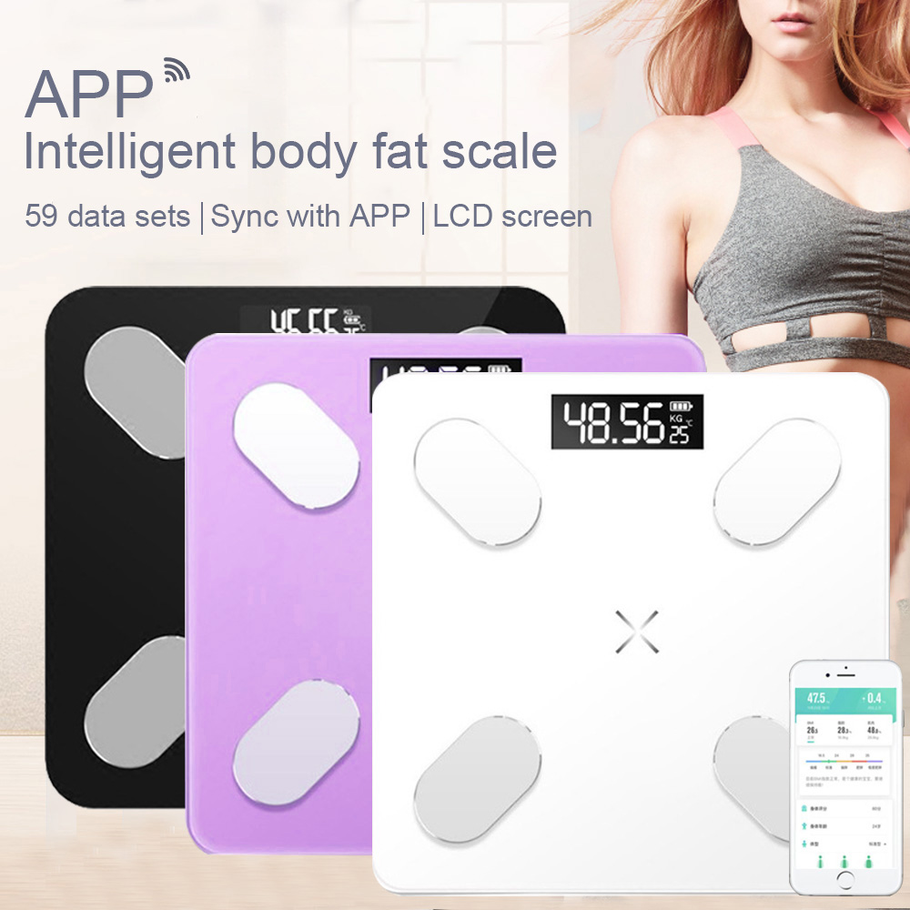 Analyzer Weight-Scales Weighing Composition Bathroom Bluetooth Smart Electronic Mini title=