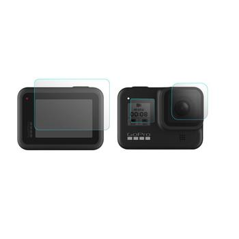 Obiektyw aparatu folia ochronna na ekran pokrowiec na szkło hartowane do GoPro Hero 8 GO-BHM636 37 akcesoria do kamer sportowych tanie i dobre opinie centechia for GoPro 8