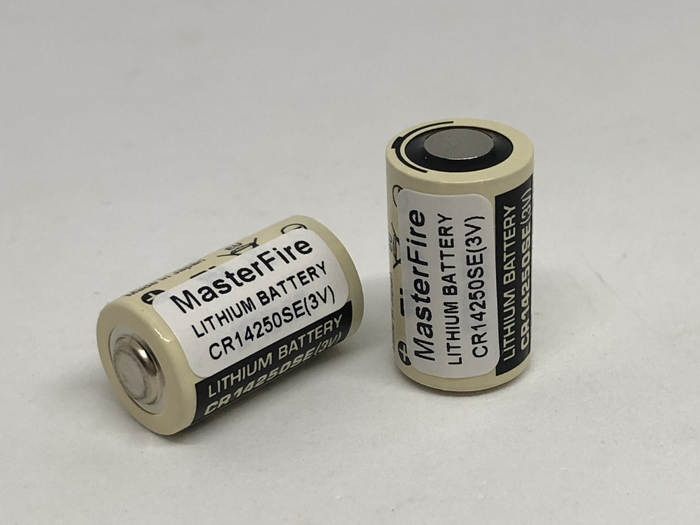 MasterFire 4pcs lot New Original Battery For FDK CR14250SE 3V CR14250SE CR14250 3V Industrial Lithium PLC Batteries in Primary Dry Batteries from Consumer Electronics