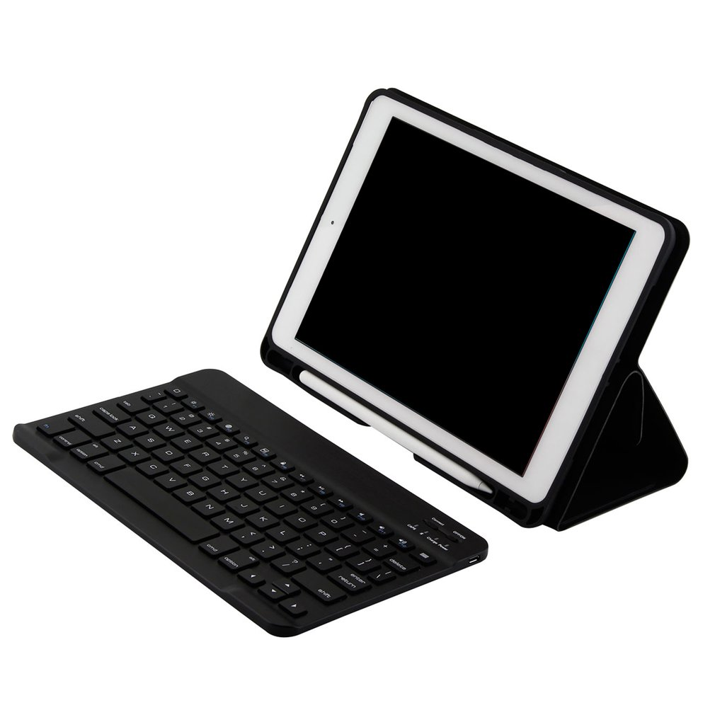 """cover for ipad 2018 case Wireless Keyboard Case For iPad 9.7"""" 6th/5th Gen 2018/2017 Pro Air 1/2 Soft Durable linen tablet case"""