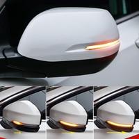 Car Styling Dynamic Turn Signal Light LED Side Mirror Indicator Blinker Light For Honda FIT Jazz 2014 2019 / HR V Vezel 2015