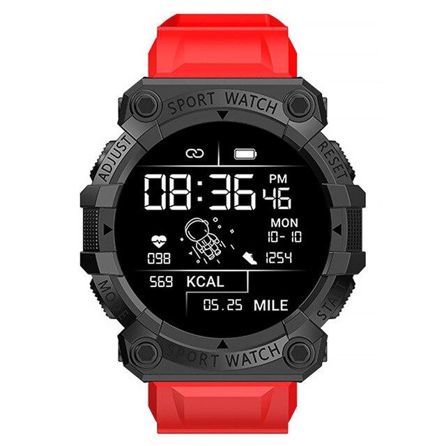 FD68S Smart Bracelet Rechargeable 150mAh Sleeping Sports Watch Pedometer TPU Heart Rate Blood Pressure Detector 1
