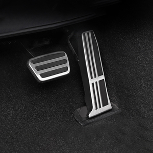 Image 1 - Car Accelerator Pedal Brake Pedal Footrest Pedal Pads Cover Non Slip For Toyota RAV4 Camry Avalon 2018 2019 For Lexus ES GS 2018