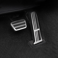 רכב מאיץ דוושת בלם דוושת דום רפידות כיסוי החלקה לטויוטה RAV4 קאמרי Avalon 2018 2019 עבור לקסוס ES GS 2018