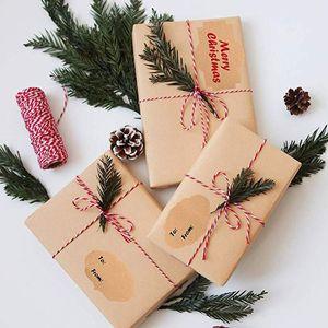 300 pcs Mason Jar Glass Bottle Adhesive Labels Blank Natural Kraft Sealing Sticker For Cake Baking Packing Christmas Gift DIY