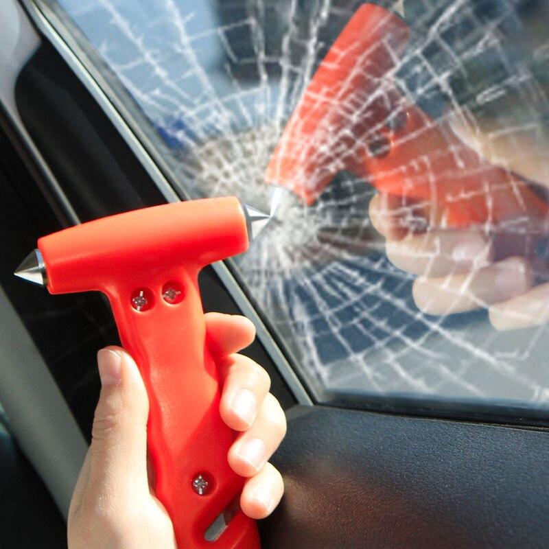14.5cm Car Safety Escape Hammer Mini Life-Saving Seat Belt Cutter Window Glass Breaker Emergency Multi Tool Accessories Supplies