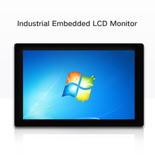 19 21.5 23.6 Inch Industrial Display LCD Screen Monitor of Tablet VGA HDMI Not Touch Screen Embedded installation b100jc abhuv 10 inch touch monitor 10 inch touch display hdmi hd resistance touch monitor meal industrial medical touch screen