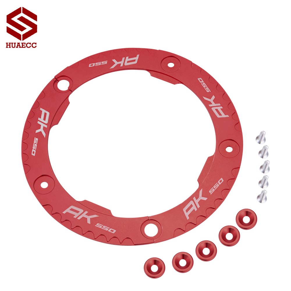 CNC Aluminum Motorcycles Accessories Transmission Belt Pulley Cover for <font><b>KYMCO</b></font> <font><b>AK</b></font> <font><b>550</b></font> AK550 2017-2018 image