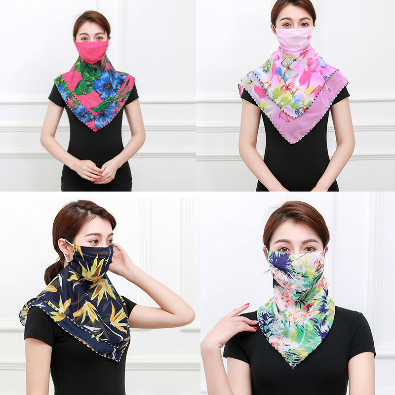 Winter Women Sale Limited 2020 Mouth Mask Face For Protection Outdoor Riding Fashion Handkerchief Hijab Bandana Foulard Scarves