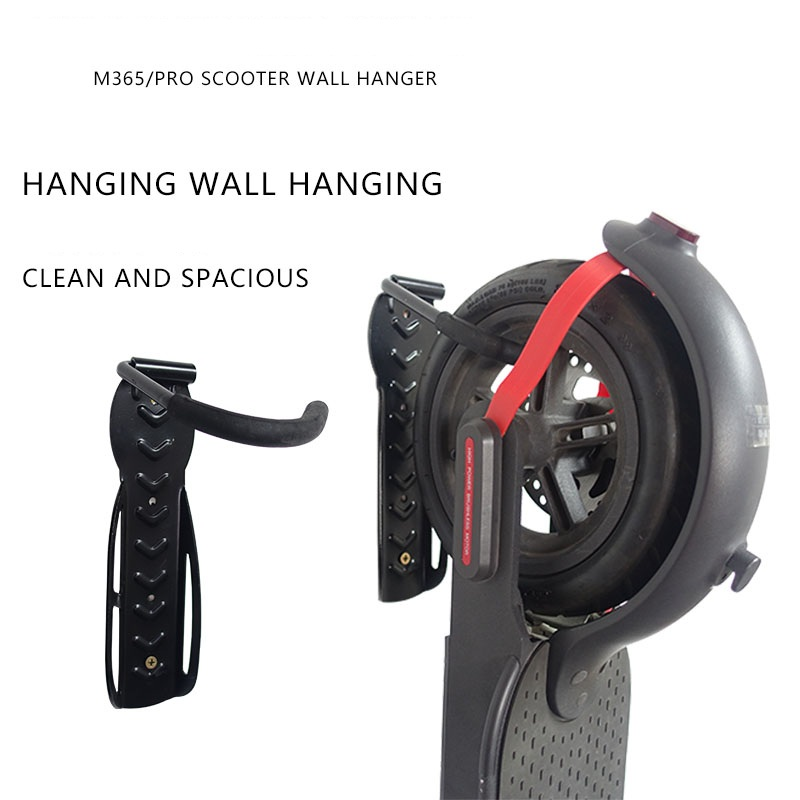 For Xiaomi M365 &pro Electric Scooter Wall Holder Hanger Stand Mounted Hanging Rack Storage Hook Scooter Skateboard Cycling Part